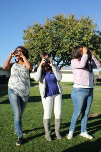 Young El Viento photographers capture the scene from every angle.